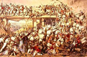 Revolt of 1857 in Haryana