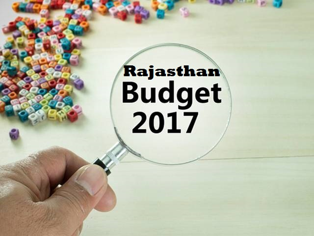 Rajasthan : Main Features of budgets